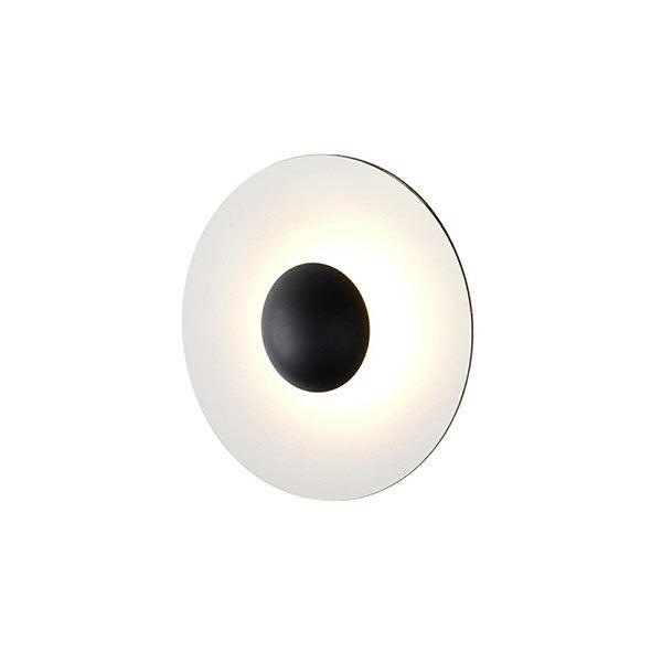 Marset Ginger 32 C Væglampe Wengé & Hvid