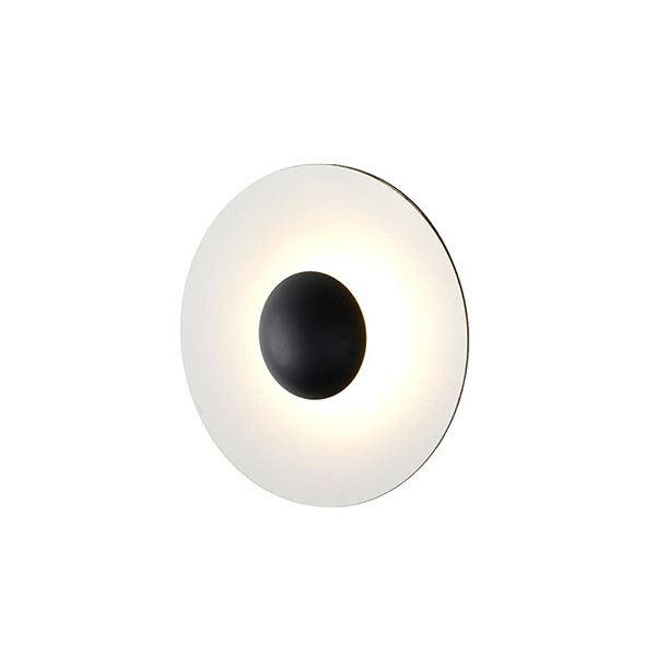 Marset Ginger 60 C Væglampe Wengé & Hvid
