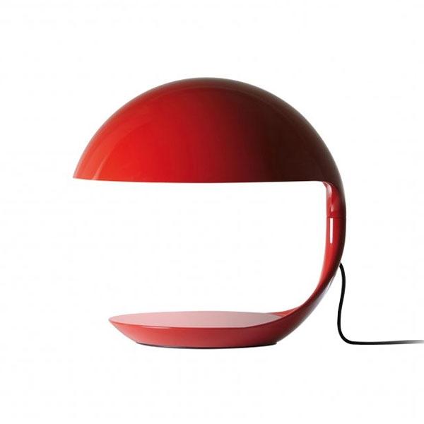 Martinelli Luce Cobra Bordlampe Rød