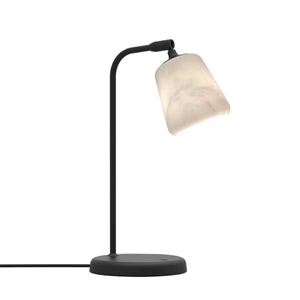 NEW WORKS Material Bordlampe The Black Sheep Marmor