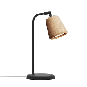 NEW WORKS Material Bordlampe Naturlig Cork