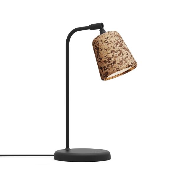 Image of NEW WORKS Material Bordlampe Blandet Cork