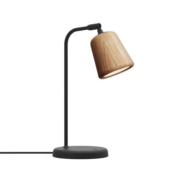 Image of NEW WORKS Material Bordlampe Naturlig Eg