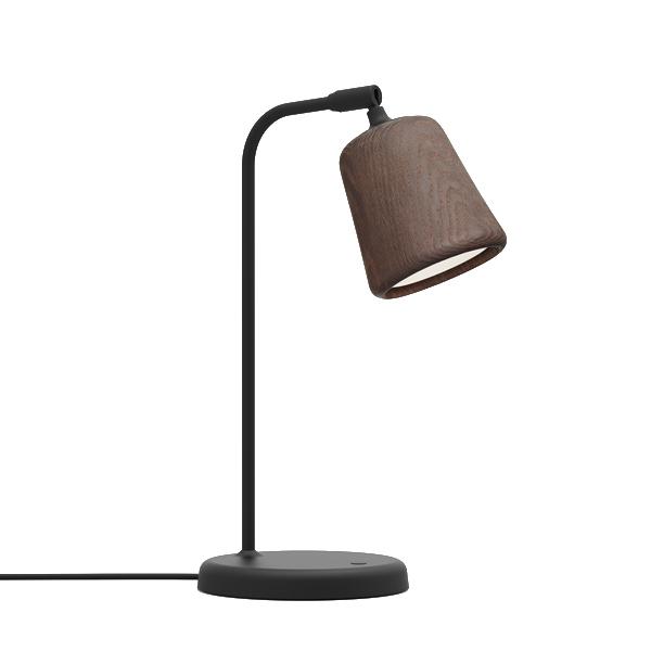 Image of NEW WORKS Material Bordlampe Røget Eg