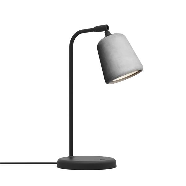 Image of NEW WORKS Material Bordlampe Lysegrå Beton