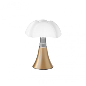 Martinelli Luce Mini Pipistrello 1965 Bordlampe Messing