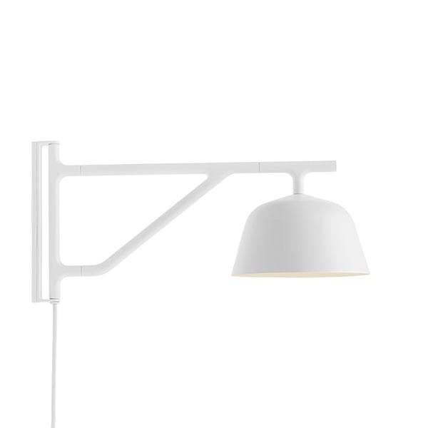 Muuto Ambit Væglampe Hvid