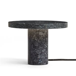 NEW WORKS Core Bordlampe Blå Granit