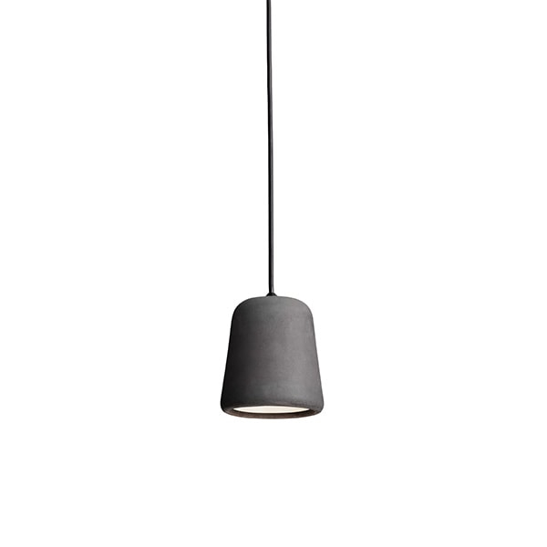 NEW WORKS Material Pendel Concrete Dark Grey