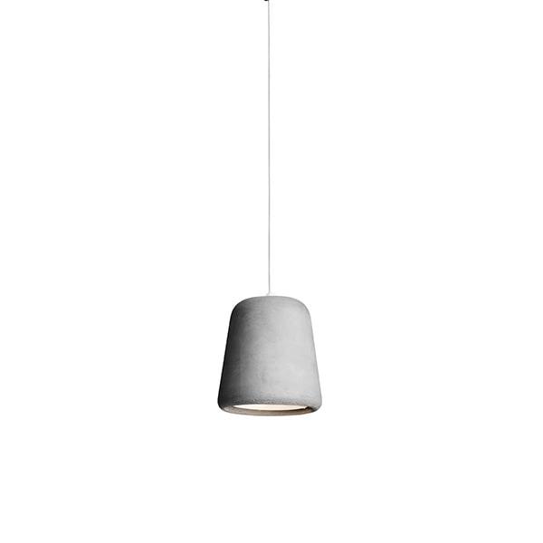 NEW WORKS Material Pendel Concrete Light Grey