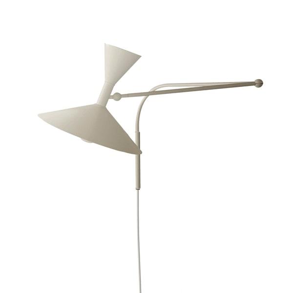 Image of   Nemo Lampe de Marseille Væglampe Hvid