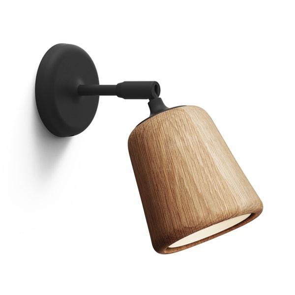 Image of NEW WORKS Material Væglampe Naturlig Eg