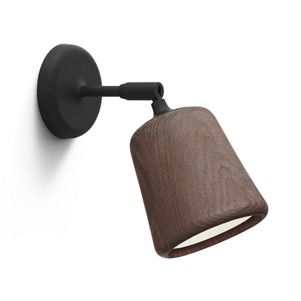 Image of NEW WORKS Material Væglampe Røget Eg