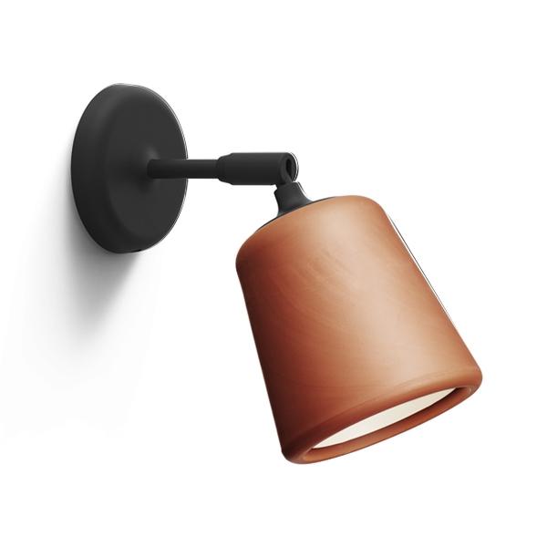Image of NEW WORKS Material Væglampe Terrakotta