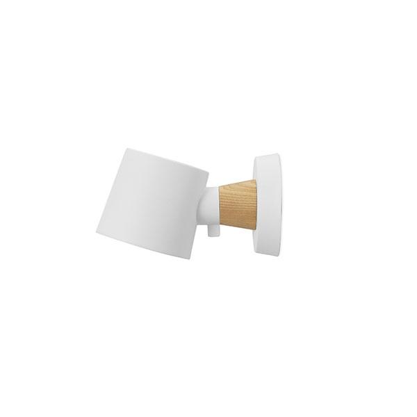 Køb Normann Copenhagen Rise Væglampe Hvid U. Ledning