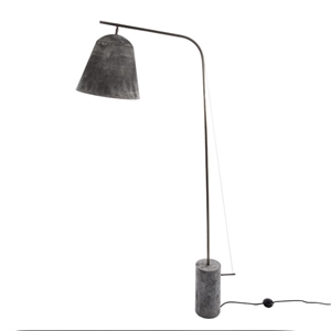 NORR11 Line Two Gulvlampe Oxideret