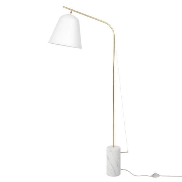 Billede af NORR11 Line Two Gulvlampe Hvid
