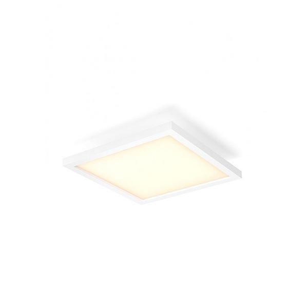Image of   Philips Hue White Ambiance Aurelle Kvadrat Loftlampe Lille