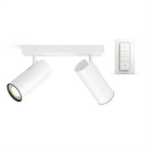Philips Hue Connected Buratto 2-Spot i Hvid