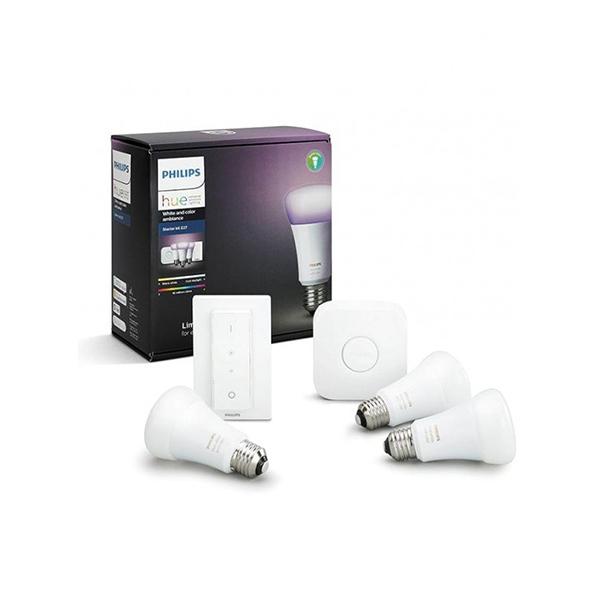 Image of Philips Hue White & Colour Ambiance 9,5W E27 Startpakke