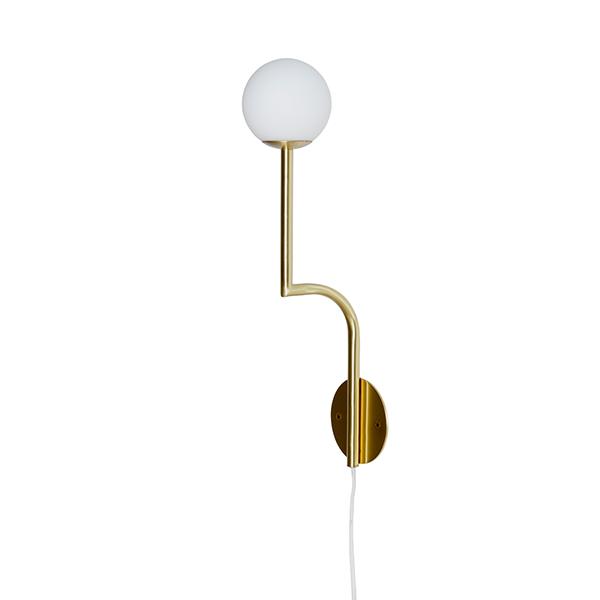 Pholc MOBIL 46 Væglampe Messing/Opal