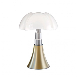 Martinelli Luce Pipistrello Medium 1965 Bordlampe Messing