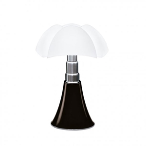 Martinelli Luce Pipistrello Medium 1965 Bordlampe Mørkebrun