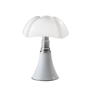 Martinelli Luce Pipistrello Medium 1965 Bordlampe Hvid