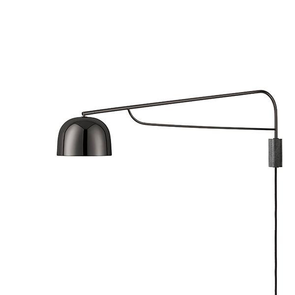 Normann Copenhagen Grant Væglampe Stor Sort