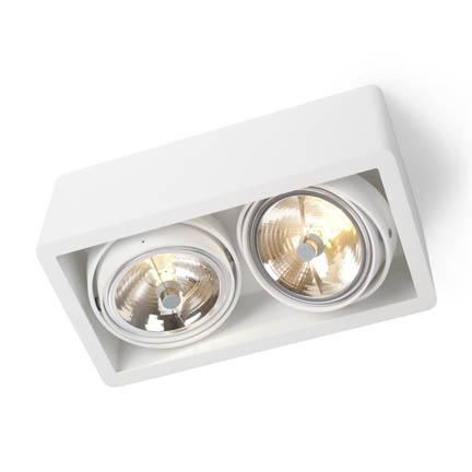 Trizo 21 R111 UP Spot- & Loftslampe Hvid