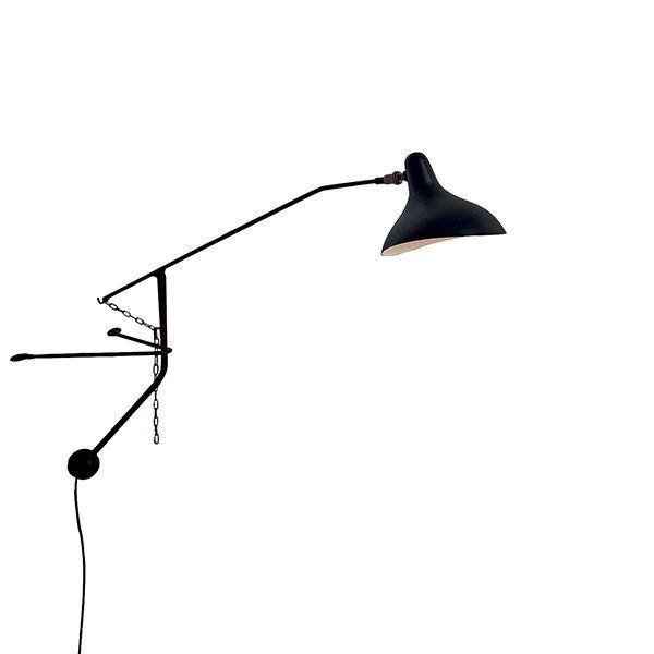 Schottlander Mantis BS2 Mini Sort Væglampe