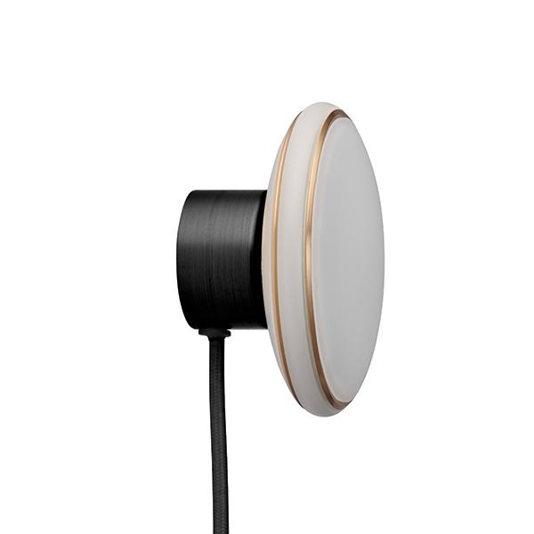 Shade ØS1 Væglampe Sort/Messing