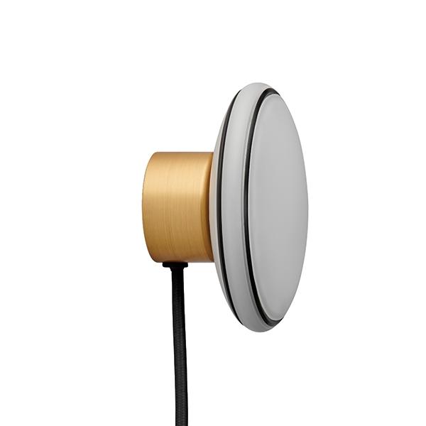 Shade ØS1 Væglampe Messing/Sort - med Node