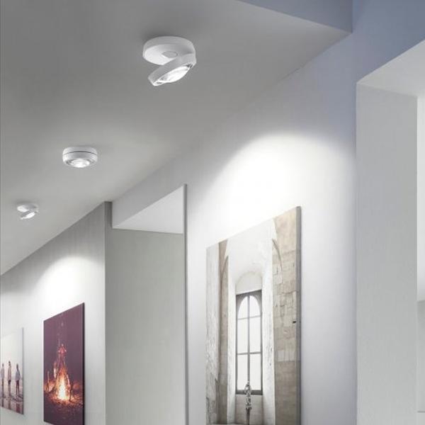 Studio Italia Nautilus Loftlampe Hvid fra Studio Italia Design