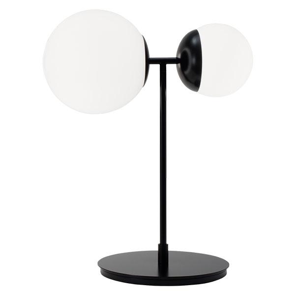 TATO Biba Bordlampe Hvid & Mat Sort