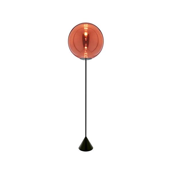 Tom Dixon Globe Cone Gulvlampe Kobber