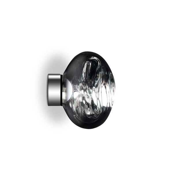 Image of Tom Dixon Melt Surface Væg/Loftlampe LED Chrome Lille
