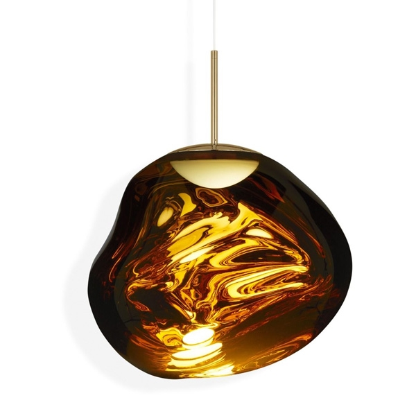 Tom Dixon Melt Pendel LED Gold Stor