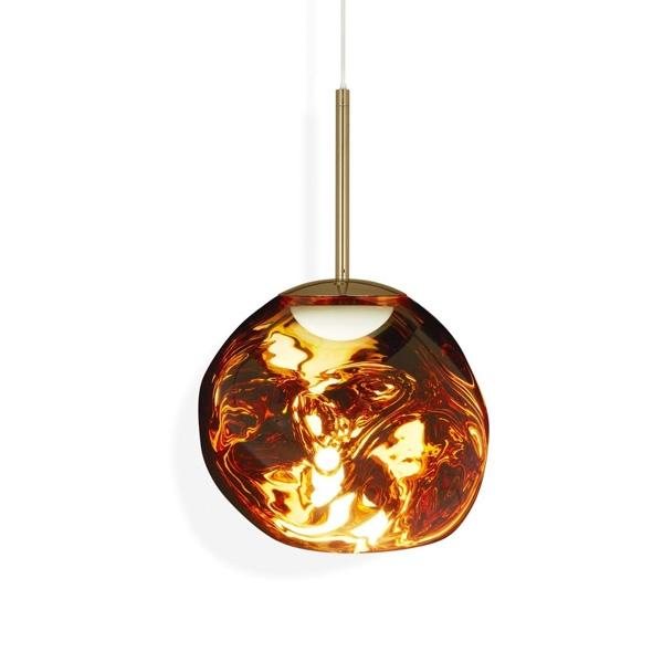 Tom Dixon Melt Pendel LED Gold Lille