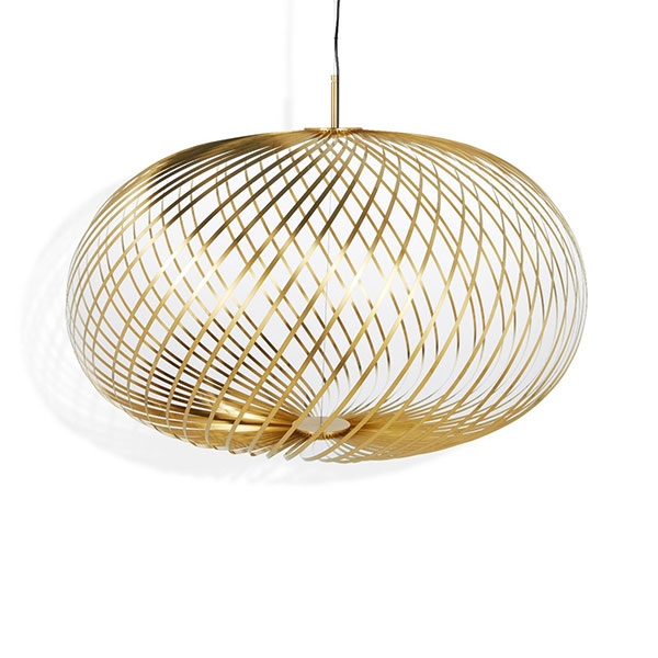 Tom Dixon Spring Stor Pendel Messing