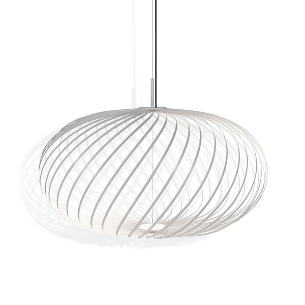 Tom Dixon Spring Medium Pendel Hvid