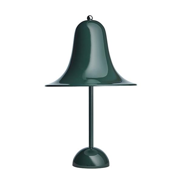 Verner Panton Pantop Bordlampe Mørk Grøn Ø23 cm