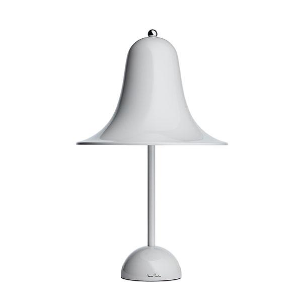 Verner Panton Pantop Bordlampe Mint Grå Ø23 cm