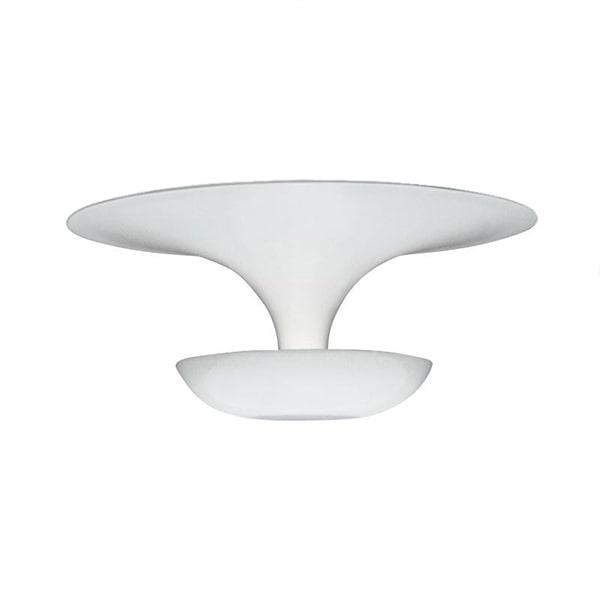 Vibia Mellem Funnel Væg/Loftlampe Blank Hvid