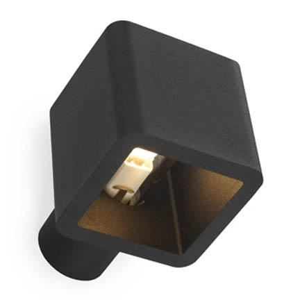 Trizo 21 Code Wall IN Væglampe Sort