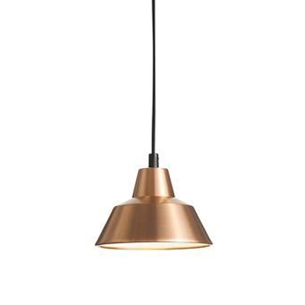 Made By Hand Værkstedslampe Pendel Kobber/Hvid W1 thumbnail