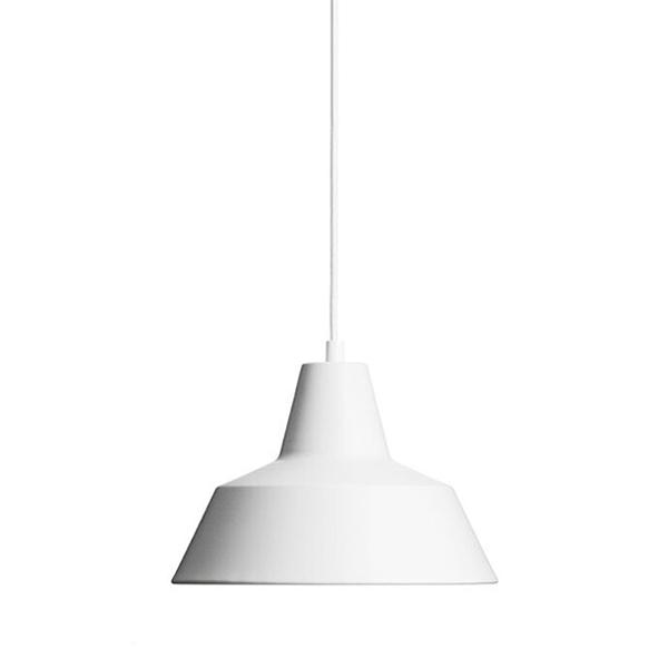 Made By Hand Værkstedslampe Pendel Mat Hvid W2 thumbnail