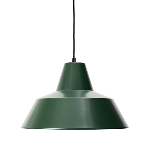 Made By Hand Værkstedslampe Pendel Racing Green W4 thumbnail