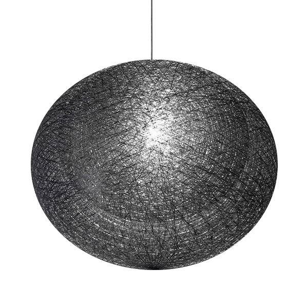 mayuhana ii oval pendel fra yamagiwa i sort fri fragt. Black Bedroom Furniture Sets. Home Design Ideas
