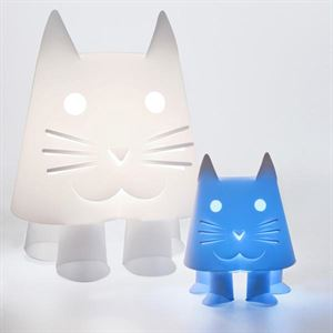 Zoolight Mini Kat Børne Bordlampe